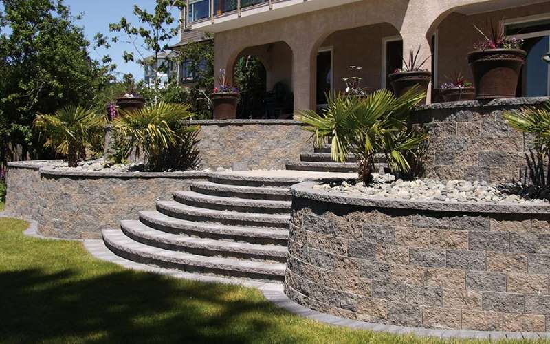 Garden WallScapes Segmental Retaining Wall System